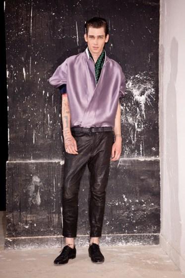 HAIDER ACKERMANN menswear spring 2014 fashiondailymag sel 16