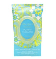 Pacifica coconut purifying cleansing wipes FashionDailyMag