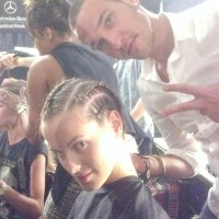 Alon Livne Backstage NYFW