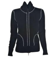 LUIGI BALDO zip up black LUIGI BALDO vneck royal FashionDailyMag cashmere guide 2013