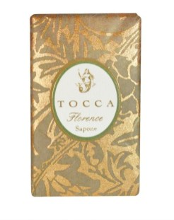 TOCCA florence soap FashionDailyMag Gifts under 25