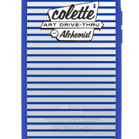 Art Basel:  Art Drive-thru colette at alechemist