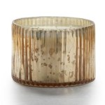 gilded amberleaf 3 wick mercury candle gold FashionDailyMag