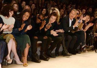 Burberry Womenswear Autumn/Winter 2014 - Front Row & Show
