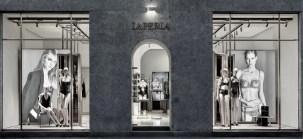 la perla store reopening Milan during MFW fashiondailymag