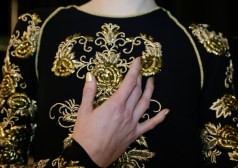 naeem khan beauty fall 2014 FashionDailyMag
