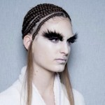 ALEXANDER MCQUEEN fall 2014 FashionDailyMag sel hair 34b