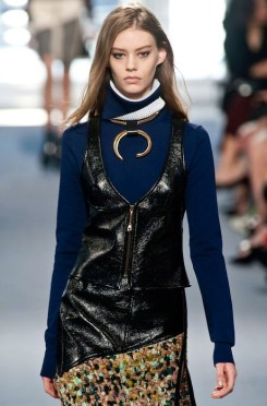 ONDRIA HARDIN LOUIS VUITTON fall 2014 FashionDailyMag sel
