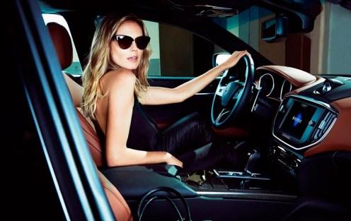 Heidi Klum by Francesco Carrozzini Maserati FashionDailyMag sel 04