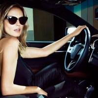 "HEIDI KLUM + Maserati ""Beyond Swimsuit"" campaign"
