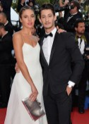 Natasha Andrews and Pierre Niney cannes film festival fashiondailymag