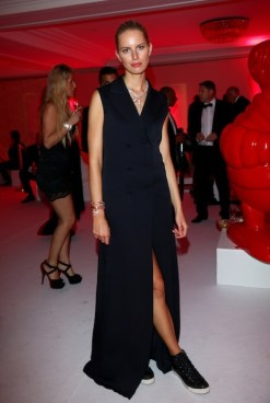 Karolina Kurkova attends the Moncler, The After Party To Benefit amfAR