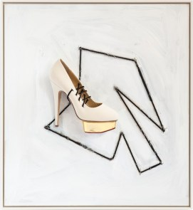 'Soft Shoe', 2014, Richard Prince, Charlotte Olympia for Stepping Up For Art. Photographer Eric Kaczmarczyk