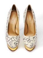 'Glass Slipper', 2014, Maya Lin. Charlotte Olympia for Stepping Up For Art. Photographer Liam Goodman copy