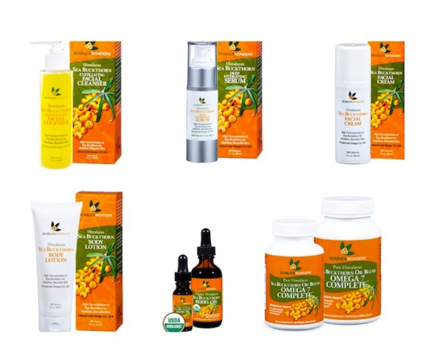 SEABUCK WONDERS seabuckthorn skin products FashionDailyMag