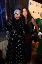 brigitte segura with Iris Alpfel fitgala2014 FashionDailyMag