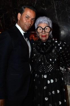 james aguilar iris alpfel 2014 FIT Gala FashionDailyMag