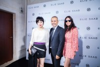 Josie Ho and Yvette Yung at Paris Couture week with elie saab FashionDailyMag sel 5