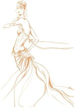 MAGGIE NORRIS couture illustration FashionDailyMag sel 1