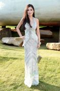 rebecca wang serpentine summer party FashionDailyMag