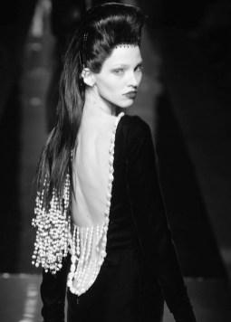 sasha luss JEAN PAUL GAULTIER haute couture Fall 2014 FashionDailyMag sel 24