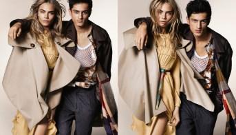 cara delevingne burberry fall 2014 campaign testino modelinia FashionDailyMag 1