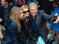 cara delevingne kate moss mario testino front row burberry FashionDailyMag