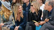 cara delevingne Burberry Womenswear SS15 - Front Row & Show