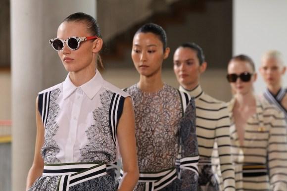 Preen by Thornton Bregazzi SS15 (Christopher James, British Fashion Council) 5 fashiondailymag