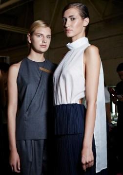 1205 SS15, backstage (Sam Wilson, British Fashion Council) 12 fashiondailymag