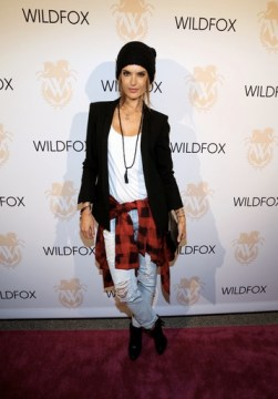Alessandra Ambrosio attends the Wildfox launch FashionDailyMag