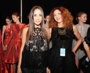 Brigitte Segura & Stella Nolasco beauty 2 At Stella Nolasco SS15 Fashiondailymag