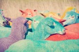 Rainbow Sheep III GRAY MALIN dream series FashionDailyMag