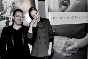 coco rocha at forevermark launch holdmyhandforever FashionDailyMag