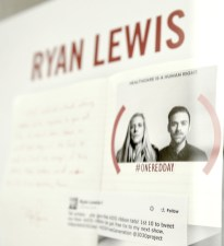 ryan lewis The Launch of the (MOLESKIN)RED #OneREDDay Collection at the Park Hyatt in NYC