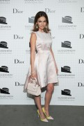 camilla belle in Dior at Guggenheim gala FashionDailyMag