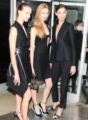 ondria hardin Dior at Guggenheim gala FashionDailyMag