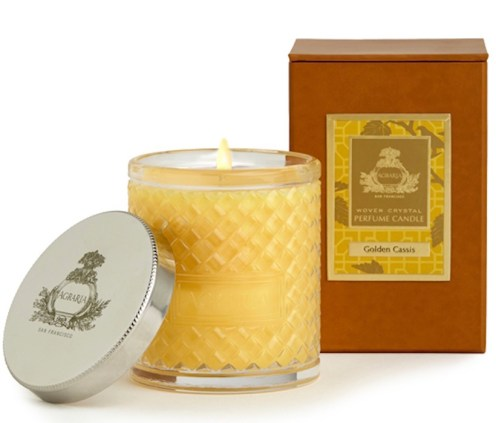 Agraria Woven Crystal Perfume Candle Golden Cassis FashionDailyMag GiftGuide 2014 sel7