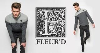 Fleur'd Pins Black Glitter Fleur banner FashionDailyMag