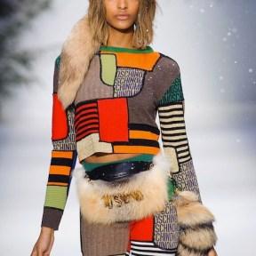 JOURDAN DUNN MOSCHINO FALL 2015 LCM FashionDailyMag sel 1