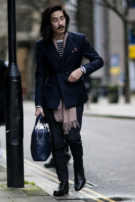 LONDON COLLECTIONS MEN AW15 streetstyle FashionDailyMag sel 3