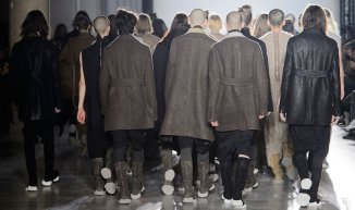 rick owens group finale fall 2015 fashiondailymag feature
