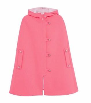maison kitsune pink cape FashionDailyMag vday