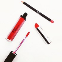 red professional makeup by makeup pro