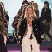 Dsquared2 fall 2015 MFW highlights