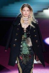 DSquared2 fall 2015 FashionDailyMag sel daphne groeneveld