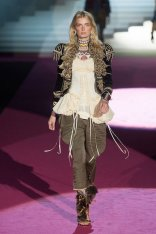 DSquared2 fall 2015 FashionDailyMag sel lily donaldson 3