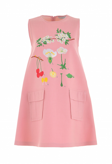 Vivetta PINK dress at Colette FashionDailyMag