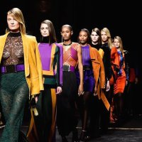 BALMAIN fall 2015 PFW highlights