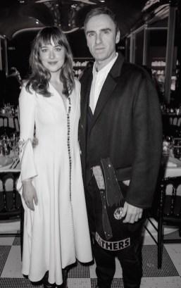 dakota johnson and raf simons DIOR after party fall 2015 FashionDailyMag